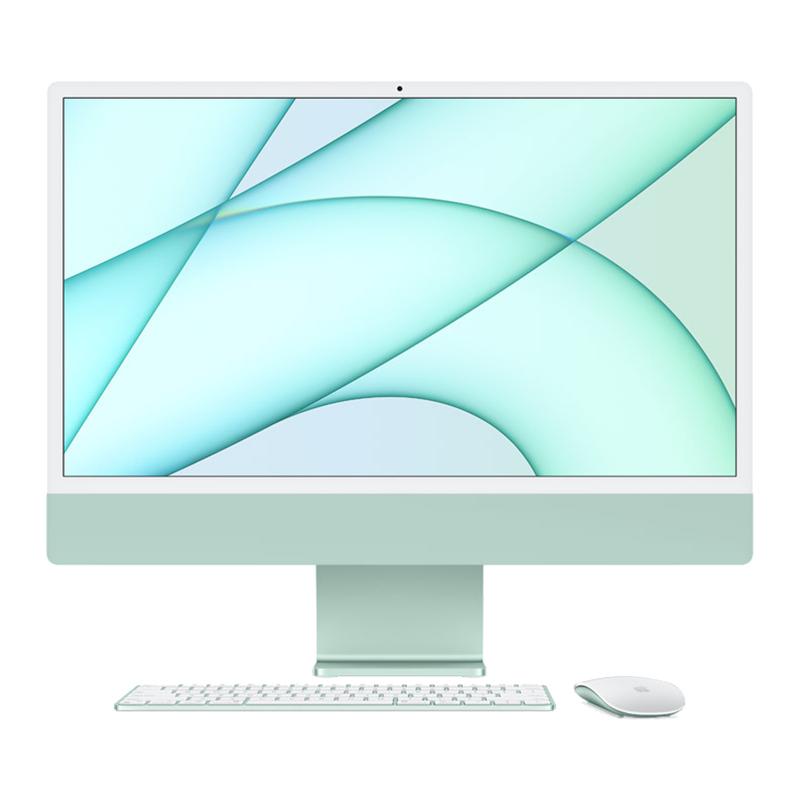 Apple 24 in iMac - Apple M1 8 Core GPU 512GB - Green (MGPJ3X/A)