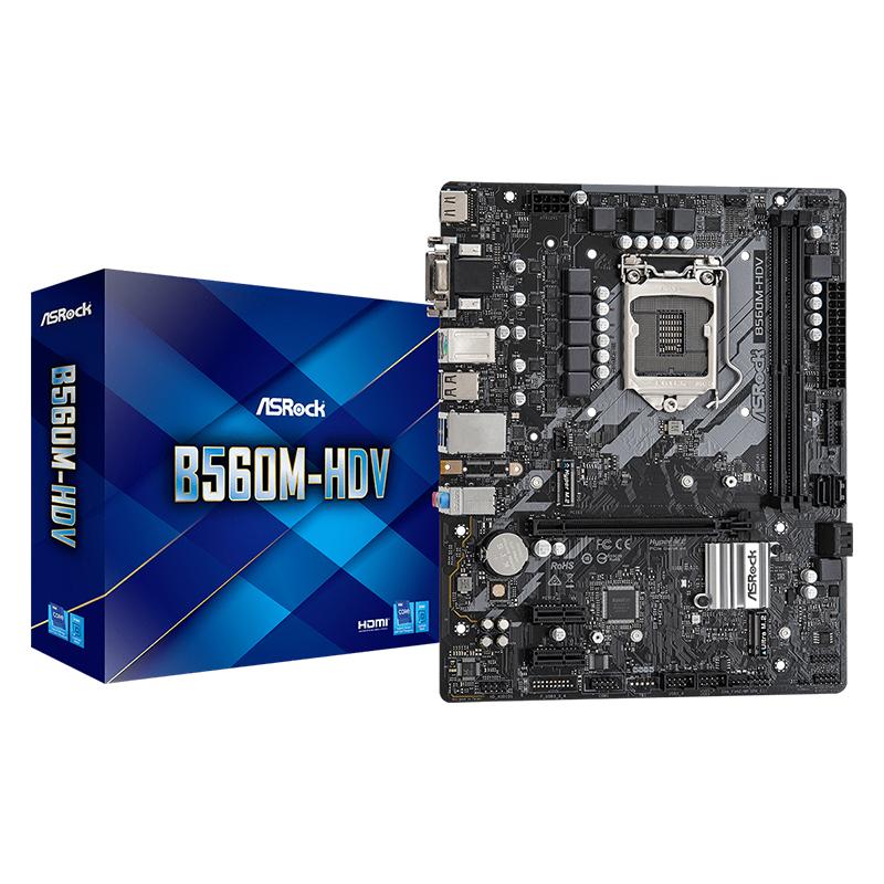 Asrock B560M HDV LGA 1200 mATX Motherboard