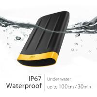 Silicon Power 2TB A65 Shock, Dust, Waterproof, Data Security Portable External Hard Drive USB 3.0 For PC,MAC,XBOX,PS4