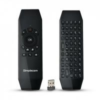 Simplecom RT150 2.4GHz Wireless Remote Air Mouse Keyboard