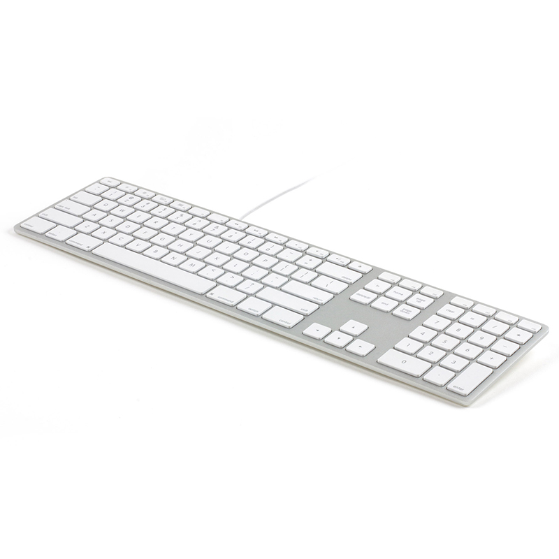 Matias FK318S Wired Aluminum Keyboard for Mac Silver