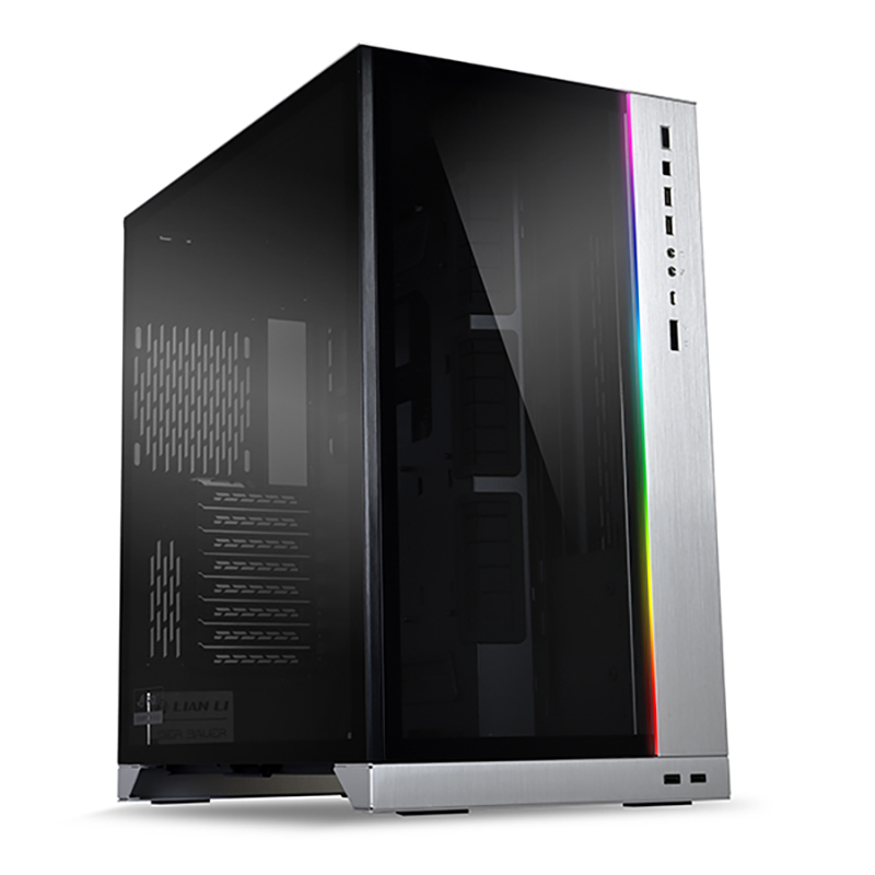 Lian Li PC-O11 Dynamic XL ROG Certified Tempered Glass RGB EATX Case - Silver