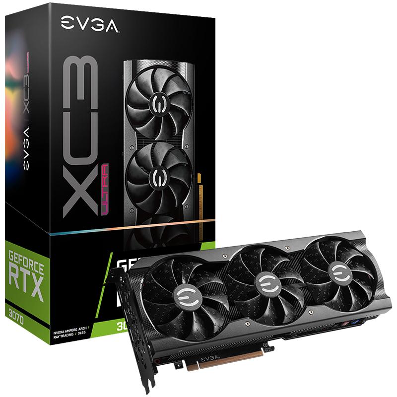 EVGA GeForce RTX 3070 XC3 ULTRA 8GB Graphics Card