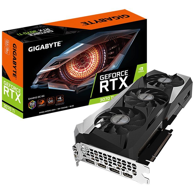 Gigabyte GeForce RTX 3070 Ti Gaming OC 8G Graphics Card