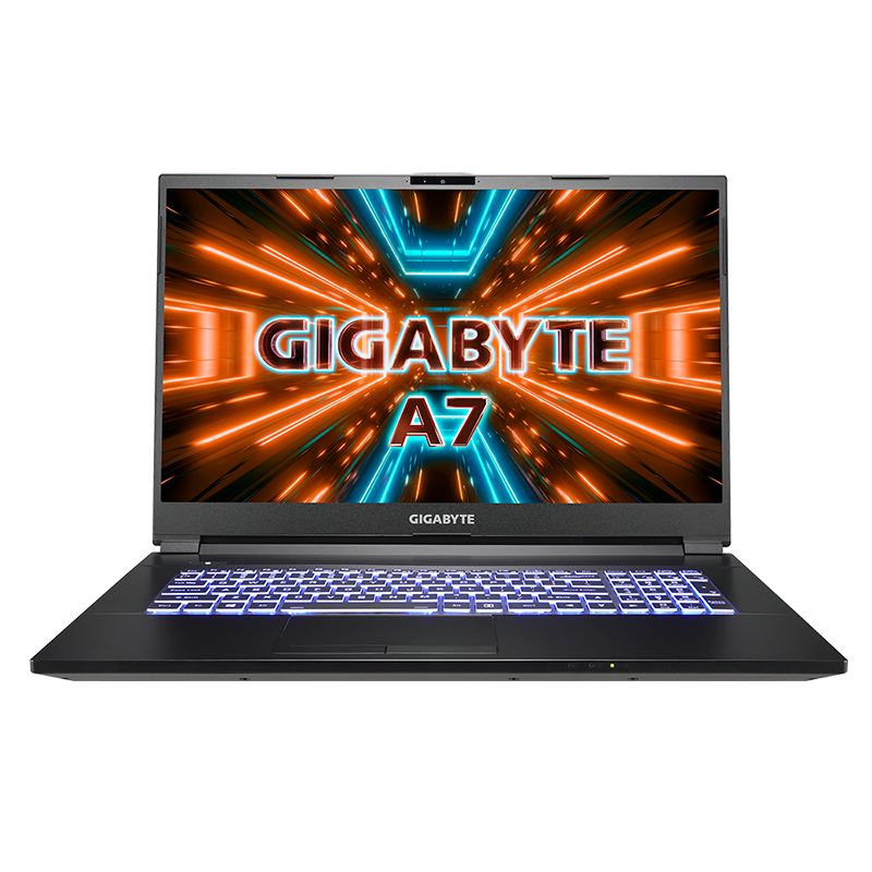 Gigabyte A7 X1 17.3in FHD 144Hz R9-5900HX RTX3070 512GB SSD 16GB RAM W10H Gaming Laptop (A7 X1-CAU1130SH)