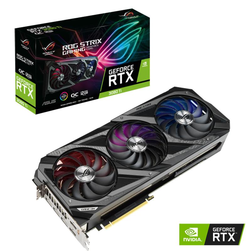Asus ROG Strix GeForce RTX 3080 Ti OC Gaming 12G Graphics Card