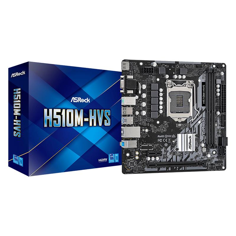 Asrock H510M-HVS LGA 1200 mATX Motherboard