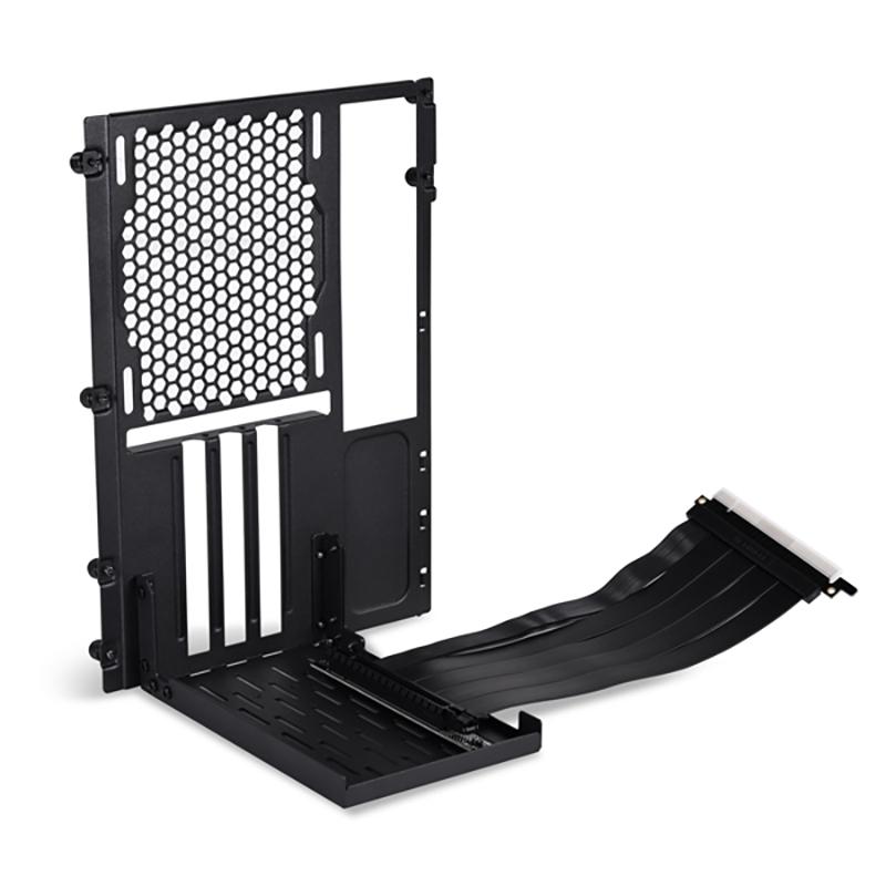 Lian Li O11DMINI-1 PCIe 4.0 Riser Vertical GPU Bracket Kit - Black