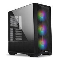 Lian Li LanCool II Mesh TG RGB Mid Tower E-ATX Case - Black