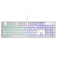 Cooler Master MasterKeys SK653 RGB Mechanical Keyboard Cherry MX Blue - White Edition