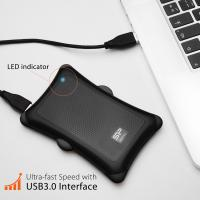 Silicon Power 2TB A30 Rugged Shockproof Portable External Hard Drive USB 3.0 For PC,MAC,XBOX,PS4,PS5 - Black