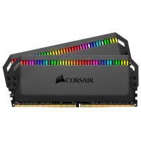 Corsair 16GB (2x8GB) CMT16GX4M2D3600C18 Dominator Platinum 3200MHz DDR4 RAM RGB Black