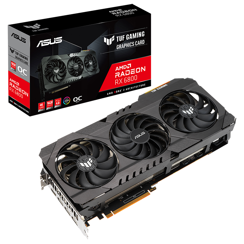 Asus TUF Radeon 6800 16GB Graphics Card