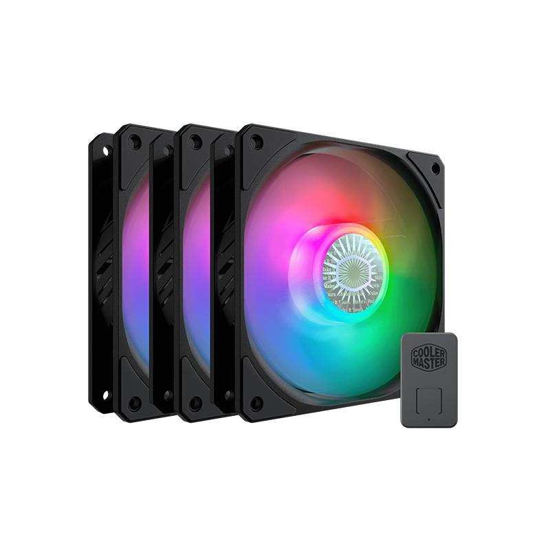Cooler Master 120mm SickleFlow ARGB Fan 3 Pack