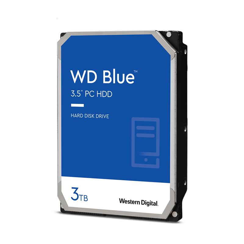 Western Digital 3TB Blue 3.5in SATA 256MB 5400RPM Hard Drive (WD30EZAZ)