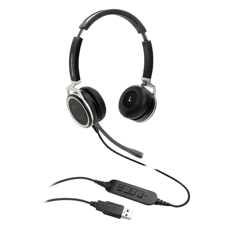 Grandstream HD USB Headset with Noise Canceling Mic