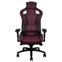 Thermaltake X FIT TT Premium Edition Real Leather Gaming Chair - Burgundy Red