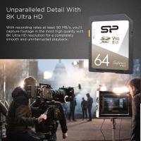 Silicon Power 64GB Superior PRO 8K 290MB/S UHS-II U3 V90 SDXC For DSLR,CAMERA,CAMCORDER,GOPRO,3D CAMERA