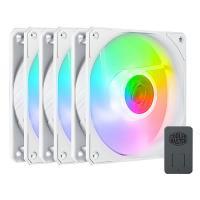 Cooler Master 120mm SickleFlow RGB 3 Pack White