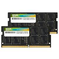 Silicon Power 8GB (2x4GB) SP008GBSFU266X22 2666Mhz CL19 DDR4 SODIMM Laptop RAM