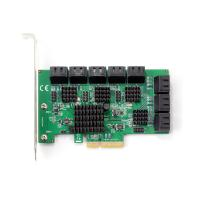 SpeedDragon PCI-E SATA 6G 16ports CARD ASM2806+4*ASM1064