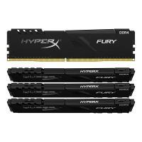 Kingston 64GB (4x16GB) KF432C16BB1K4/64 FURY Beast 3200MHz DDR4 RAM - Black