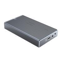 Orico Dual Bay M.2 NVMe and NGFF Aluminium SSD Enclosure - Grey