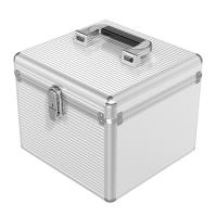 Orico Silver Aluminum 15 Bay SSD and HDD Protective Storage Case