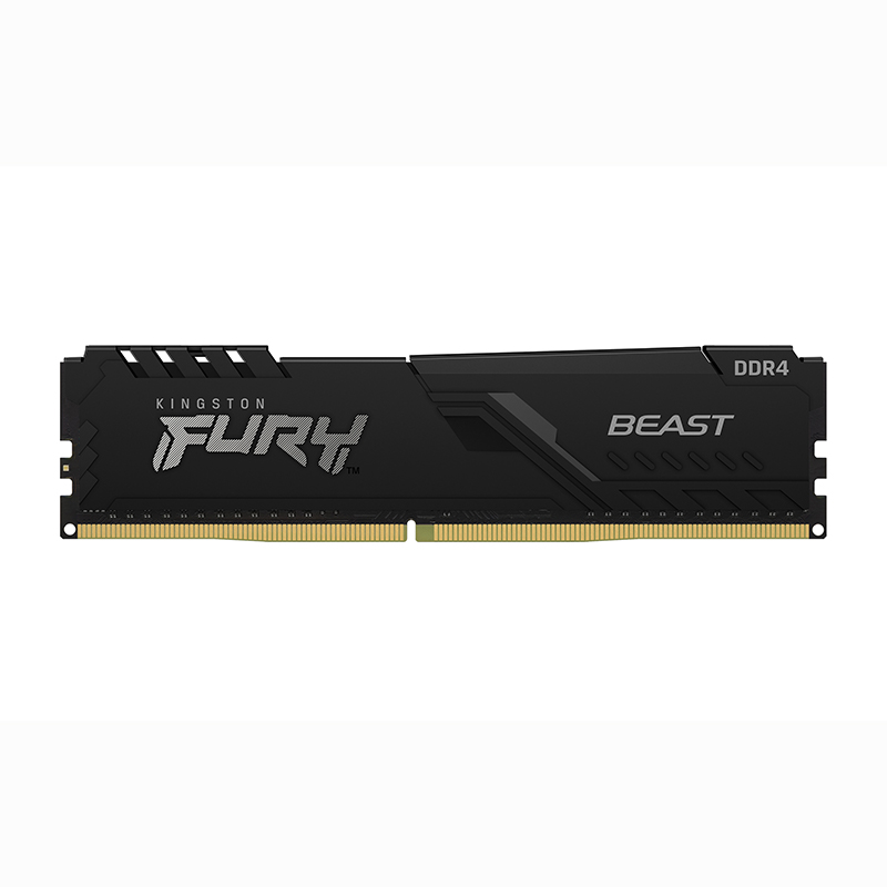 Kingston 8GB (2x4GB) KF426C16BBK2/8 FURY Beast 2666MHz DDR4 RAM - Black