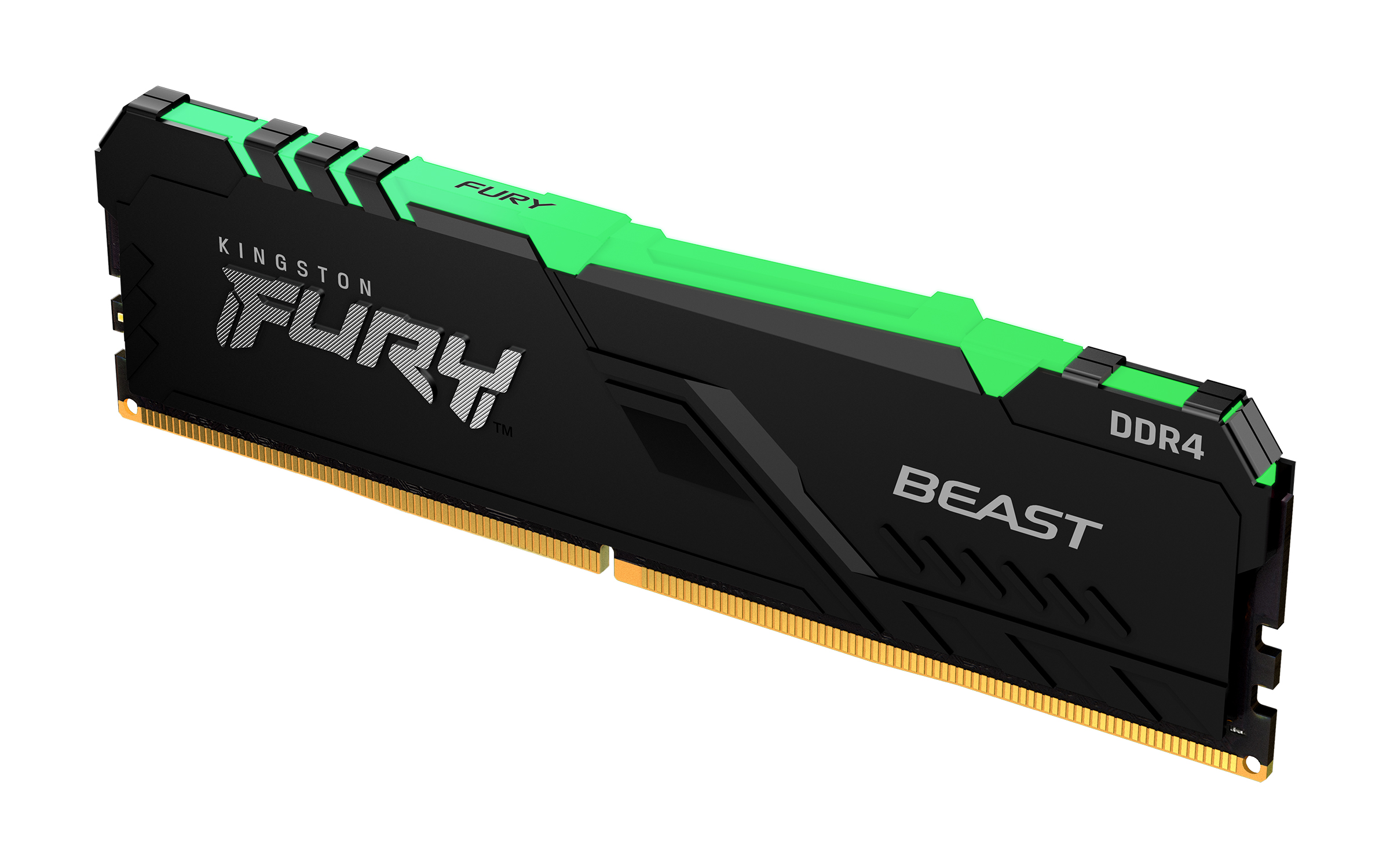 Kingston 64GB (2x32GB) KF436C18BBAK2/64 FURY Beast RGB 3600MHz DDR4 RAM