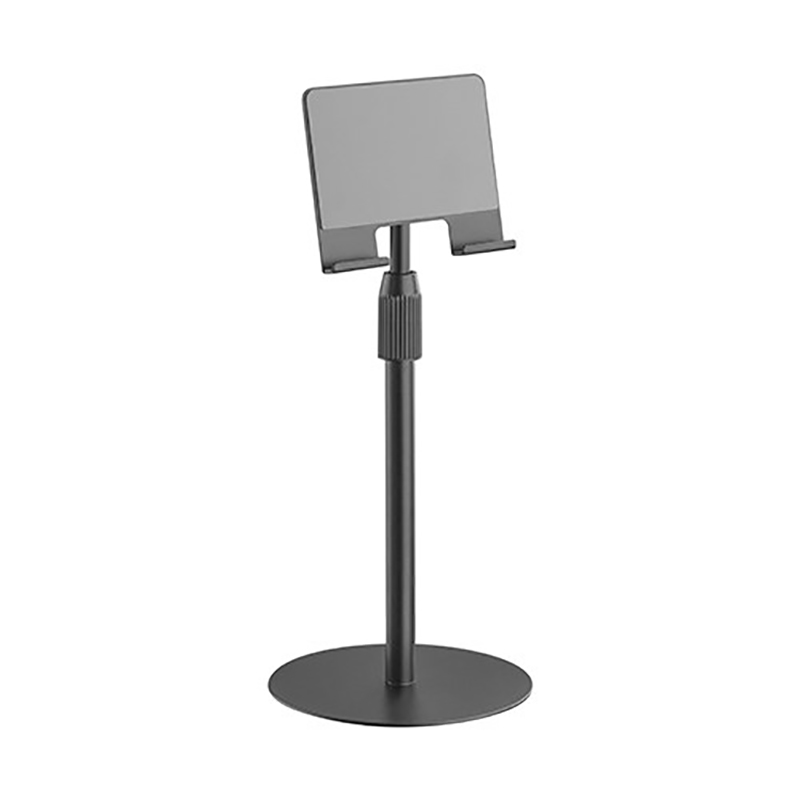 Brateck Height Adjustable Tabletop Stand for Tablets and Phones - Black