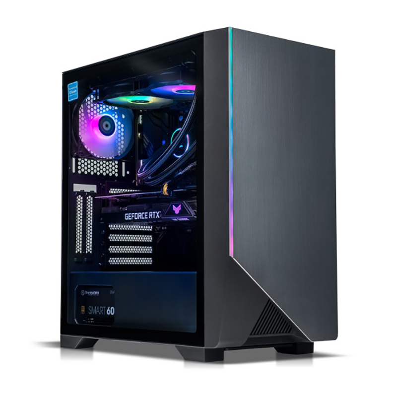 Thermaltake Rapture V3 Ryzen 5 3600 RTX 3060 500GB SSD + 2TB HDD 16GB RAM W10H Gaming Desktop PC (CA-4W2-00D1WA-02)