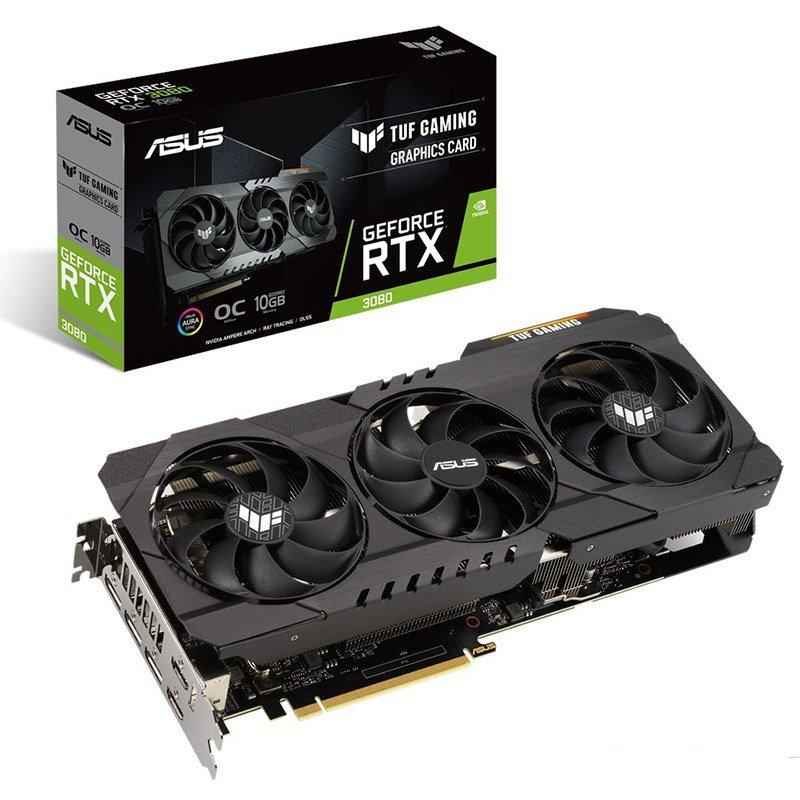 Asus GeForce RTX 3080 TUF Gaming V2 OC 10G LHR Graphics Card