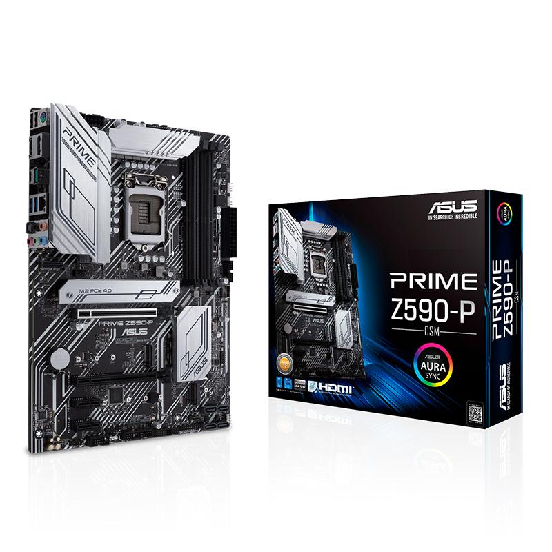 Asus Prime Z590-P/CSM LGA 1200 ATX Motherboard