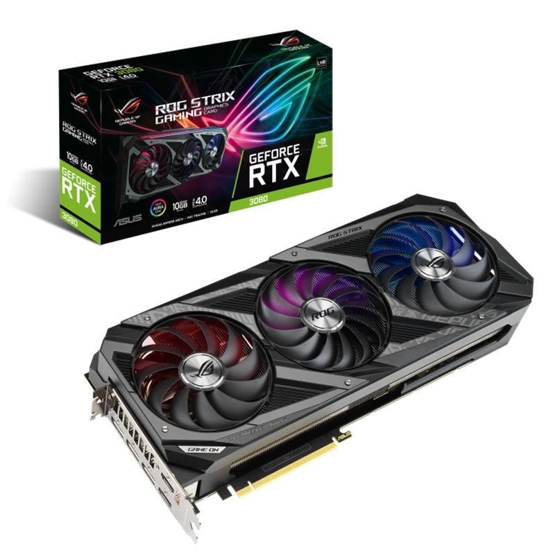 Asus ROG Strix GeForce RTX 3080 V2 10G LHR Graphics Card