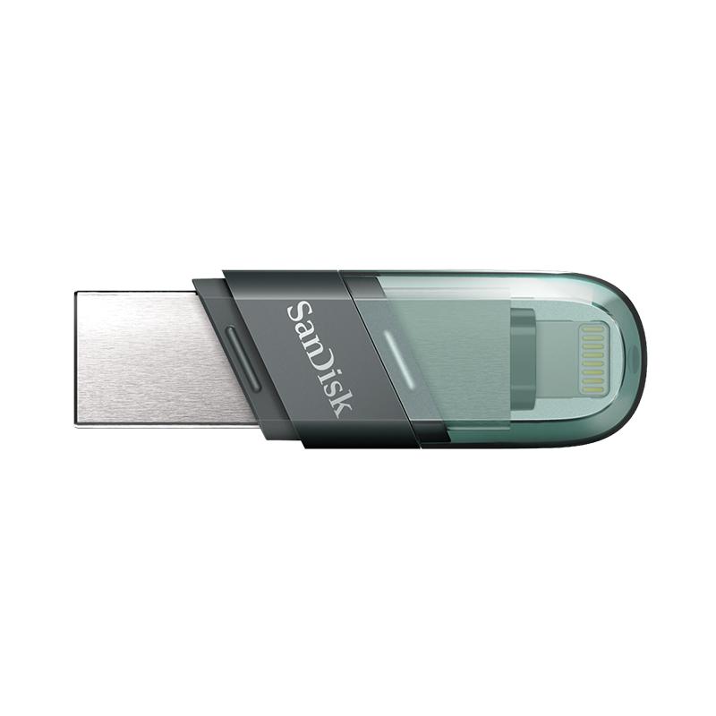 SanDisk 64GB iXpand Flash Drive Flip - Black