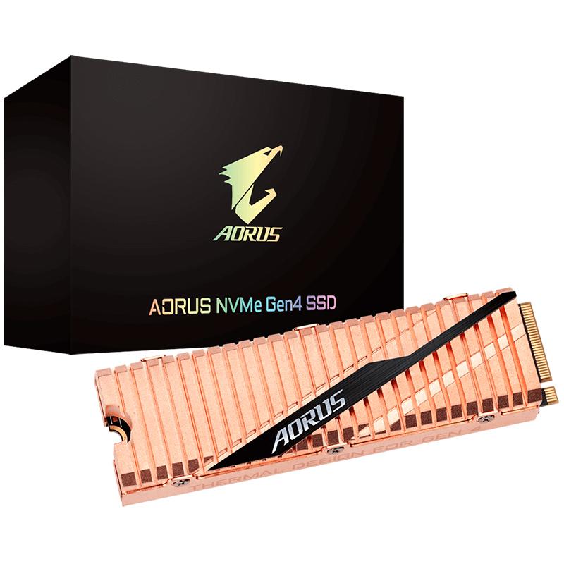 Gigabyte 2TB Aorus M.2 PCIe NVMe Gen4 SSD (GP-ASM2NE6200TTTD)