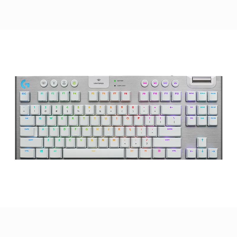 Logitech G915 TKL Tactile Wireless RGB Mechanical Keyboard White