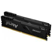 Kingston 16GB (2x8BG) KF432C16BBAK2/16 Fury Beast RGB 3200MHz DDR4 RAM