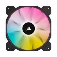 Corsair iCUE SP140 140mm RGB Elite Black PWM Fan - Single Pack