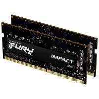 Kingston 32GB (2x16GB) KF432S20IB1K2/32 Fury Impact 3200MHz DDR4 CL20 SODIMM RAM