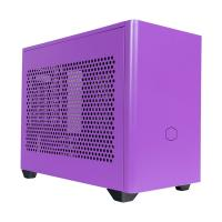 Cooler Master NR200P Tempered Glass Mini ITX Case Nightshade Purple