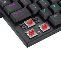 Redragon K614 Anivia 60% Ultra Thin Wired Mechanical Keyboard, Slim Compact 61 Keys RGB Gaming Keyboard w/Low Profile Linear Red Switches