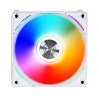 Lian Li 120mm AL120-1 UNI ARGB PWM Fan Single Pack - White