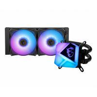 MSI MAG CORE C240 120mm Liquid CPU Cooler 2x Fans