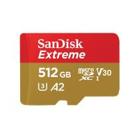SanDisk 512GB Extreme SDXC Micro SD Card