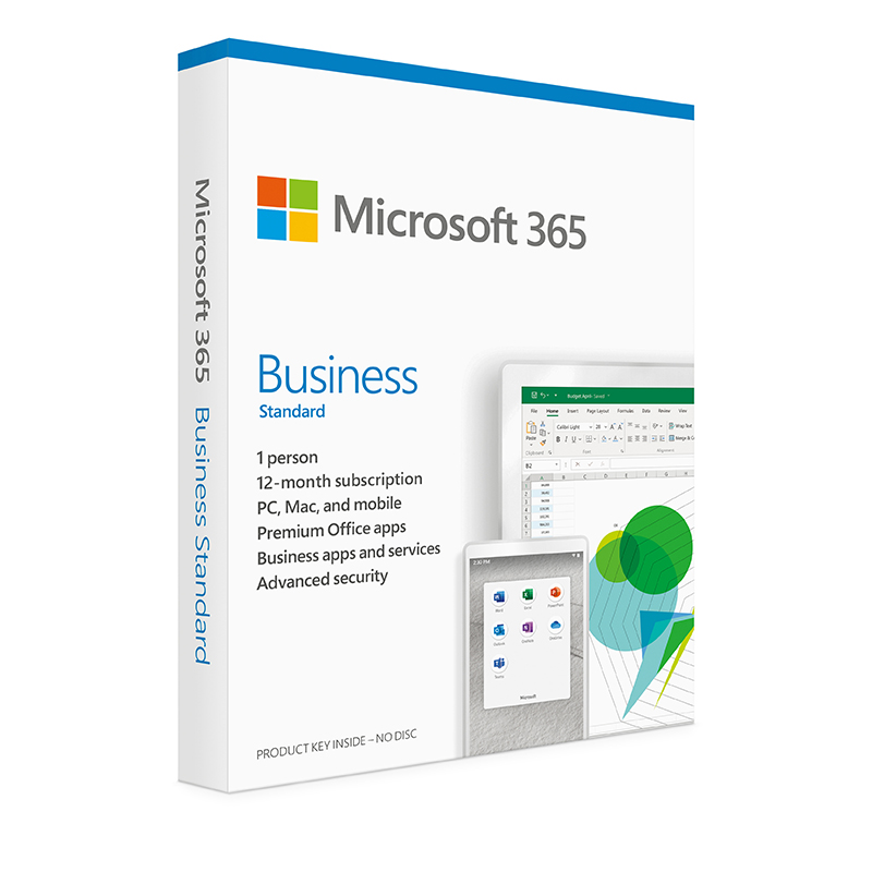 Microsoft Office 365 Business Standard Retail - 1 Year Subscription