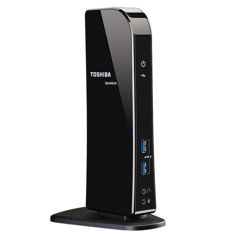 Toshiba Dynadock U3.0 USB 3.0 Docking Station - Black