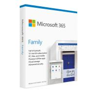 Microsoft Office 365 Family Retail - 1 Year Subscription