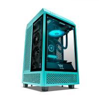 Thermaltake Citadel Turquoise Ryzen 5 3600 RTX 3060 500GB SSD 16GB RAM W10H Gaming Desktop PC (CA-4R2-00DBWA-00)